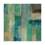 Emerald Fields Square II Giclee Print by Silvia Vassileva