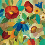 Summer Floral I Prints by Silvia Vassileva