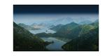 Lake Skadar Giclee Print by Rod Edwards