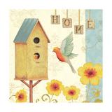 Welcome Home I Premium Giclee-trykk av Daphne Brissonnet
