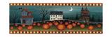 David Carter Brown - Halloween Eve Crescent Moon Speciální digitálně vytištěná reprodukce