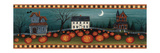 Halloween Eve Crescent Moon Premium Giclee Print by David Carter Brown
