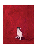 Lucky Legsie Giclee Print by Sam Toft