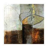 Abstract Pebble IV Premium Giclee Print by Jane Davies