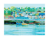 Harbour Colours Giclee Print by Jeremy Thompson