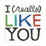 I Really Like You Giclee Print by Michael Mullan