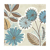 Funky Flowers V Prints by  Pela