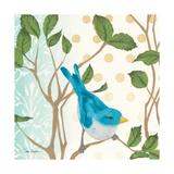 Summer Bird I Poster by Diane Hoeptner