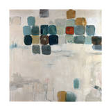 Patio Mosaic Giclee Print by Jodi Maas