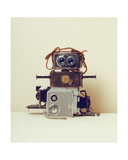 Robot Hair Giclee Print by Ian Winstanley