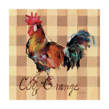 Coq Orange Art by Marilyn Hageman