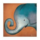 Elephant Wow Premium Giclee Print by Ryan Fowler
