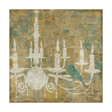 Faded Ornate I Aqua Prints by  Pela