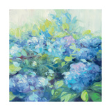 Bright Hydrangea II Giclee Print by Julia Purinton