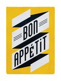Bon Apettit Giclee Print by Edu Barba