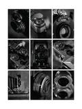 B&W Cameras Giclee Print by Ian Winstanley