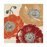 A Poppys Touch III Prints by Daphne Brissonnet