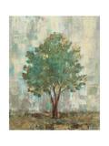Verdi Trees II Giclee-tryk i høj kvalitet af Silvia Vassileva