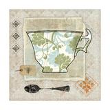 Garden Cafe II Giclée-Druck von Belinda Aldrich