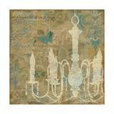Faded Ornate II Aqua Posters by  Pela