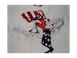 For Liberty No1 Giclee Print by Trudy Good