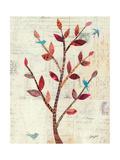 Red Leaf Tree Giclee Print by Courtney Prahl