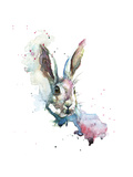 March Hare Giclee Print by Sarah Stokes