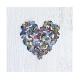 Butterfly Heart Giclee Print by Howard Shooter