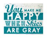 Happy Giclee Print