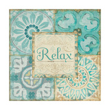 Ocean Tales Tile VI Prints by  Pela