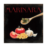 Italian Cuisine IV Giclee-tryk i høj kvalitet af Marco Fabiano