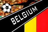 Brazil 2014 - Belgium Poster