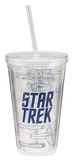Star Trek 18 oz Acrylic Travel Cup Tumbler