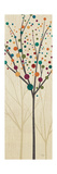 Flying Colors Trees Light II Premium Giclee Print by  Pela