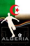 Brazil 2014 - Algeria Plakater