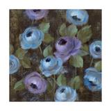 Blue Damask II Prints by Silvia Vassileva