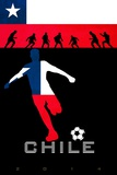 Brazil 2014 - Chile Lámina