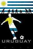 Brazil 2014 - Uruguay Posters