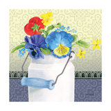 Blue Pansy III Prints by Beth Grove