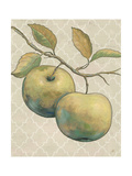 Lovely Fruits II Neutral Crop Print by Daphne Brissonnet