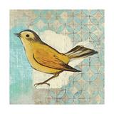 Wilsons Warbler II Art par Kathrine Lovell