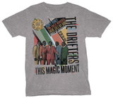 The Drifters - Rock and Roll Hall of Fame Tshirts
