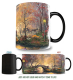 Thomas Kinkade - Central Park in the Fall Morphing Mug Mug