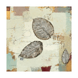 Silver Leaves IV Print by James Wiens
