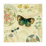 Folk Floral II Prints by Daphne Brissonnet