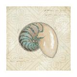 Beach Treasures III Giclee-tryk i høj kvalitet af Emily Adams