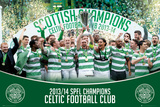 Celtic - Champions 13/14 Posters
