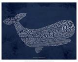 Moby Dick - Art Print
