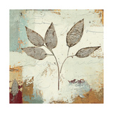 Silver Leaves III Prints by James Wiens