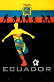 Brazil 2014 - Ecuador Kunstdrucke